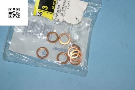 1993 - 2004 C5 Corvette Front Brake Hose Copper Washer, 21012386, New, Box A